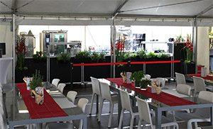 Gourmetzelt Bietigheimer Pferdemarkt 2017